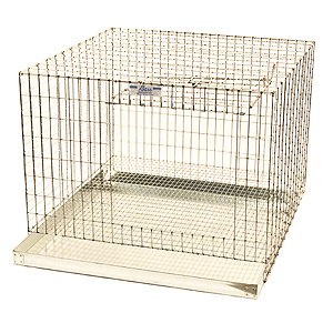 GALVANIZED CAGES WITH PAN SPCAGES-00