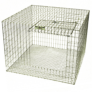 GALVANIZED RABBIT CAGES CAGEGALV-00