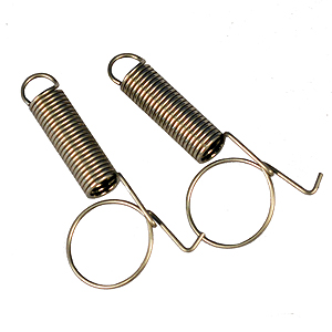 STAINLESS FINGER LOOP SPRINGS (PAIR) FLS-SS