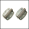 STAINLESS KENNEL HINGES (PAIR) KDH-SS