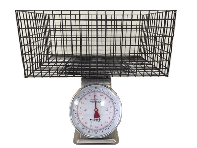 BENCH TOP SCALE BASKET SB2